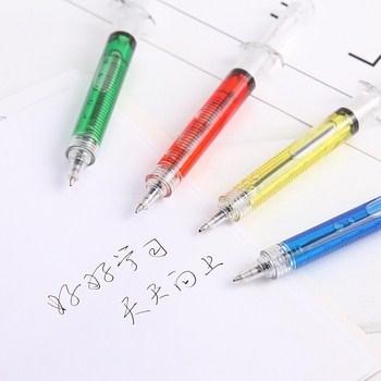 Bút bi hình ống tim