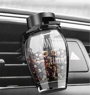 Chai nước hoa xe hơi găn quạt (3 mẫu)