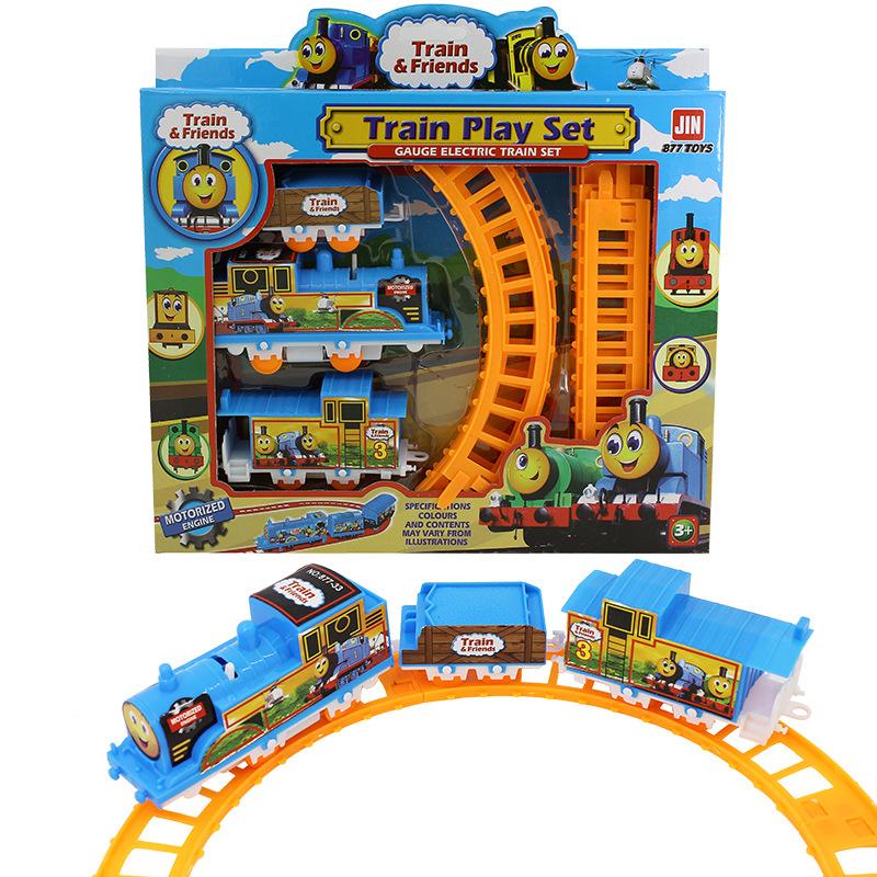 Bộ đồ chơi đường ray xe lửa cho bé