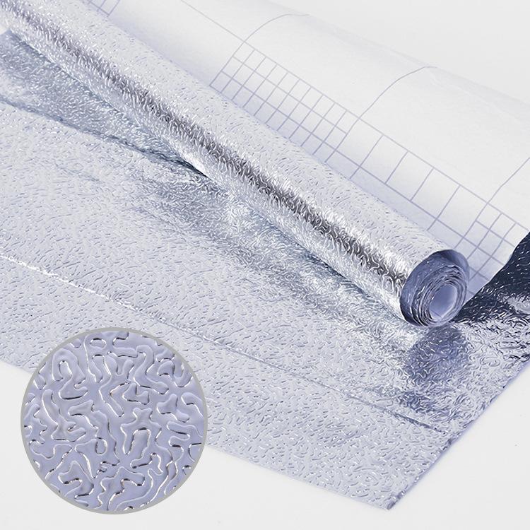 Cuộn giấy nhôm chống dầu mỡ, trang trí nhà bếp 40x200cm