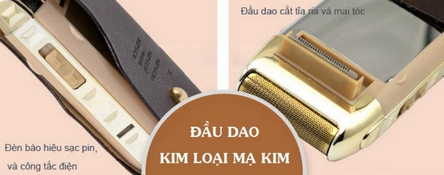 Máy cạo râu Kemei Km-5700