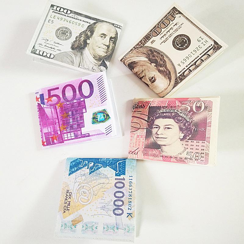 Ví đựng tiền hình tiền đô la