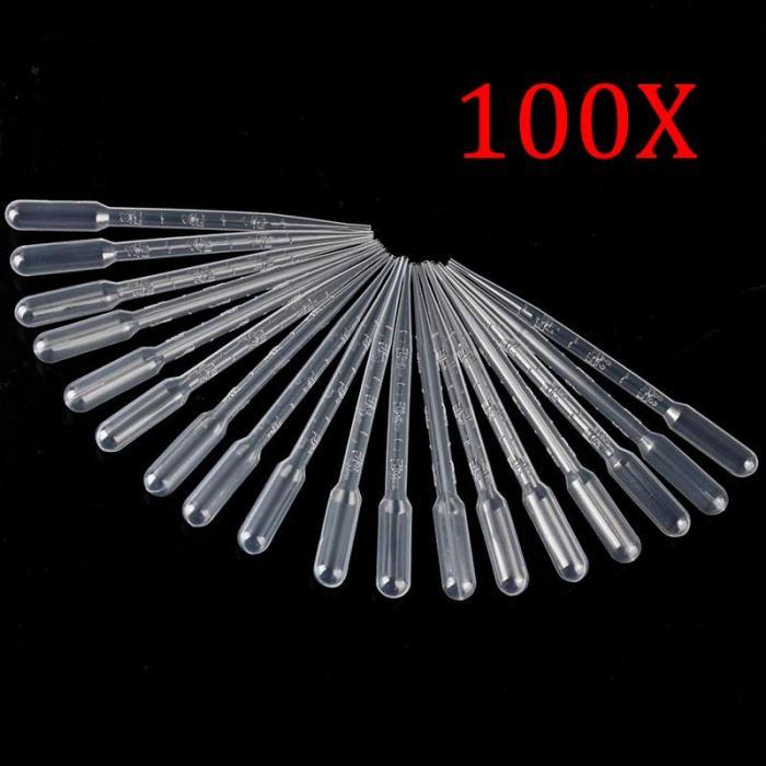Combo 100 ống hút sữa nhỏ giợt bằng nhựa 1ml