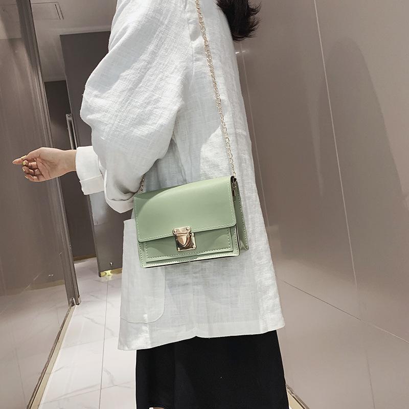 Túi xách da pu trơn phong cách Hàn Quốc
