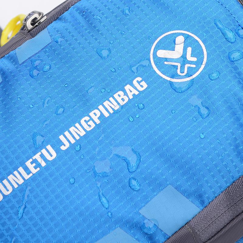 Túi đeo bao tử có chổ đựng bình nước Junletu