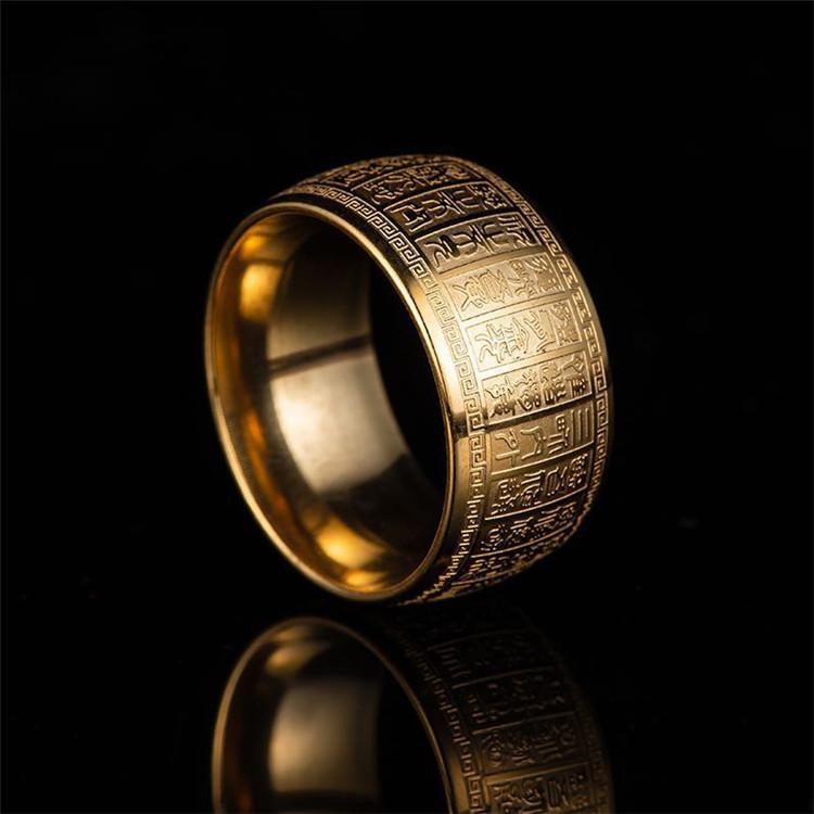 Nhẫn khắc chú đại bi titan