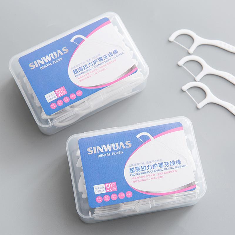 Combo 50 tăm xỉa răng SinWuas