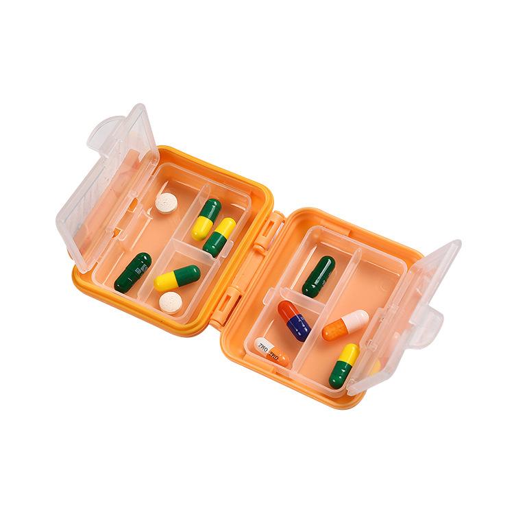 Hộp nhựa đựng thuốc cầm tay mini