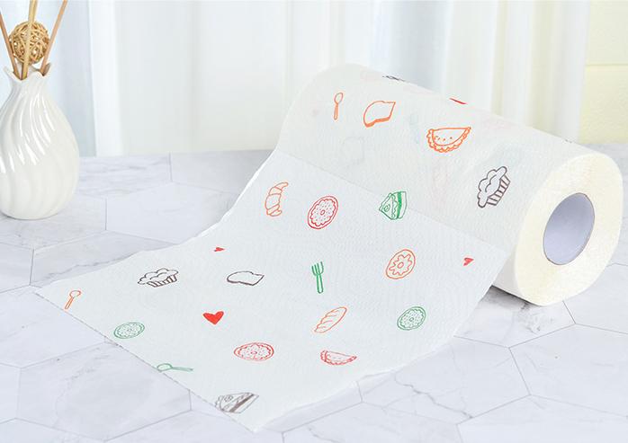 Cuộn khăn giấy thấm dầu hình củ quả