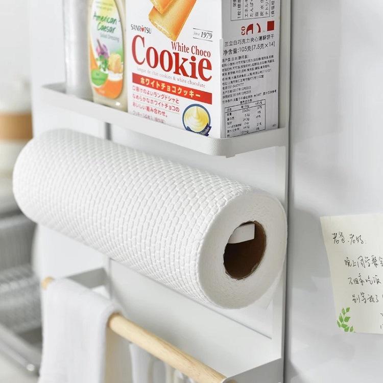 Kệ đựng đồ có nam châm hít tủ lạnh 34x27.5x7.5cm