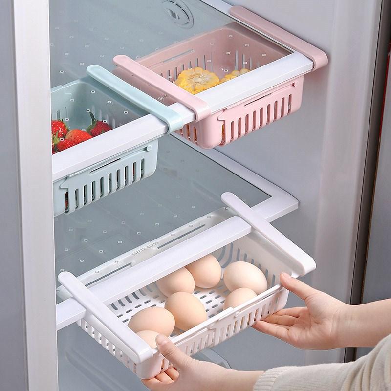 Khay nhựa kéo đựng tủ lạnh 20.5x16.5x7.5cm