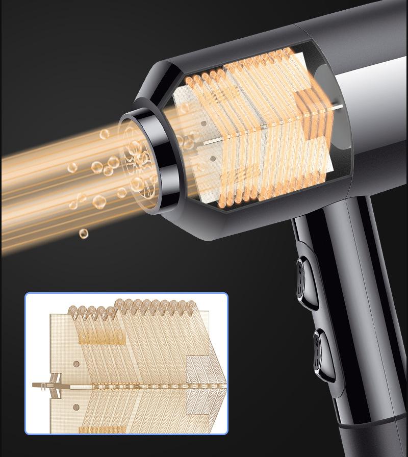 Máy sấy tóc nóng và lạnh 1600w PX-3805