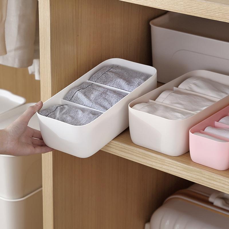 Hộp nhựa 3 ngăn đựng đồ tiện dụng