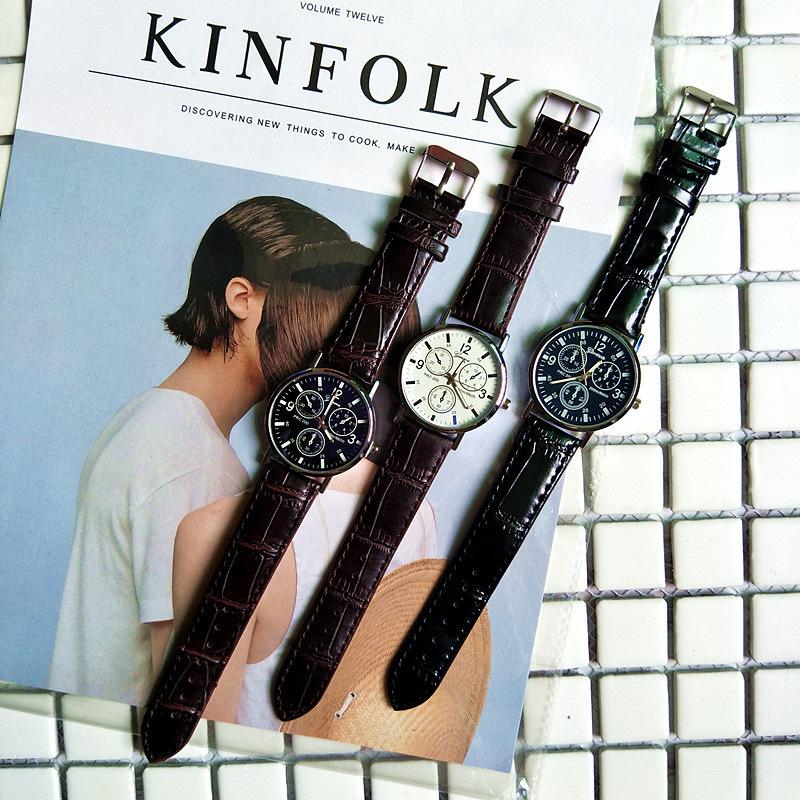 Đồng hồ nam GENEVA dây da