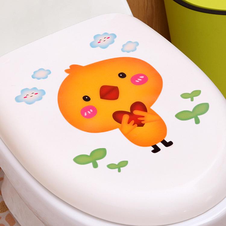Miếng dán khử mùi vệ sinh hình thú dễ thương 27.7x20.5cm
