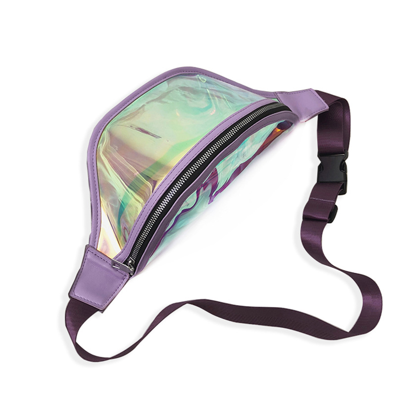 Túi đeo chéo Laser phong cách Hàn Quốc