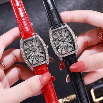 Đồng hồ nữ DZG đính đá