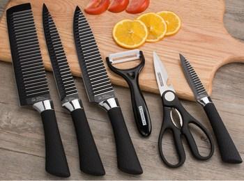 Bộ dao 6 món hình sọc EVERRICH