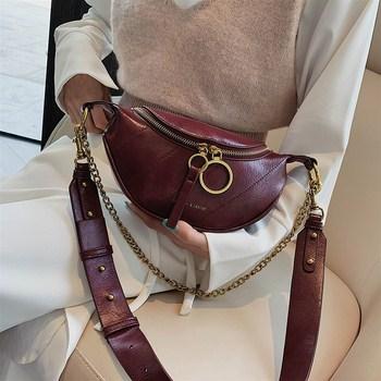 Túi da nữ đeo chéo Fashion & Leater
