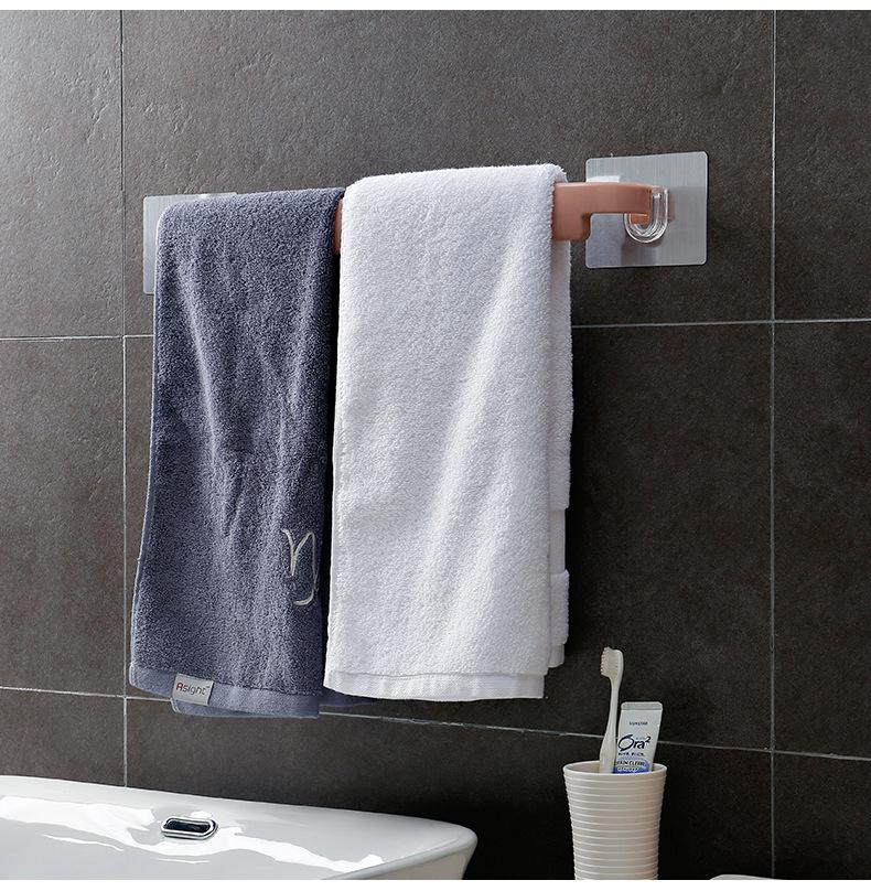 Thanh dán tường treo khăn nhà tắm 38x4.5cm