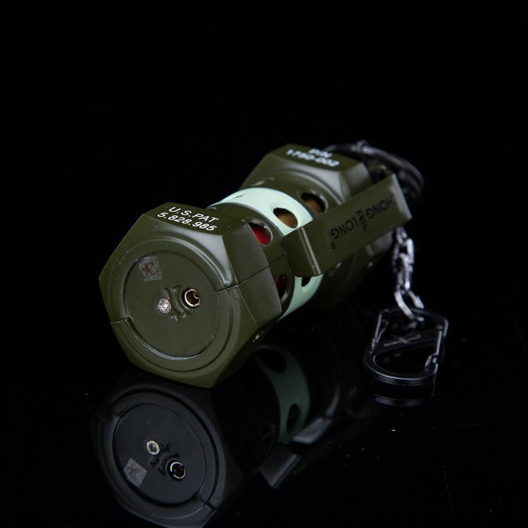 Bật lửa móc khóa hình lựu đạn M-84