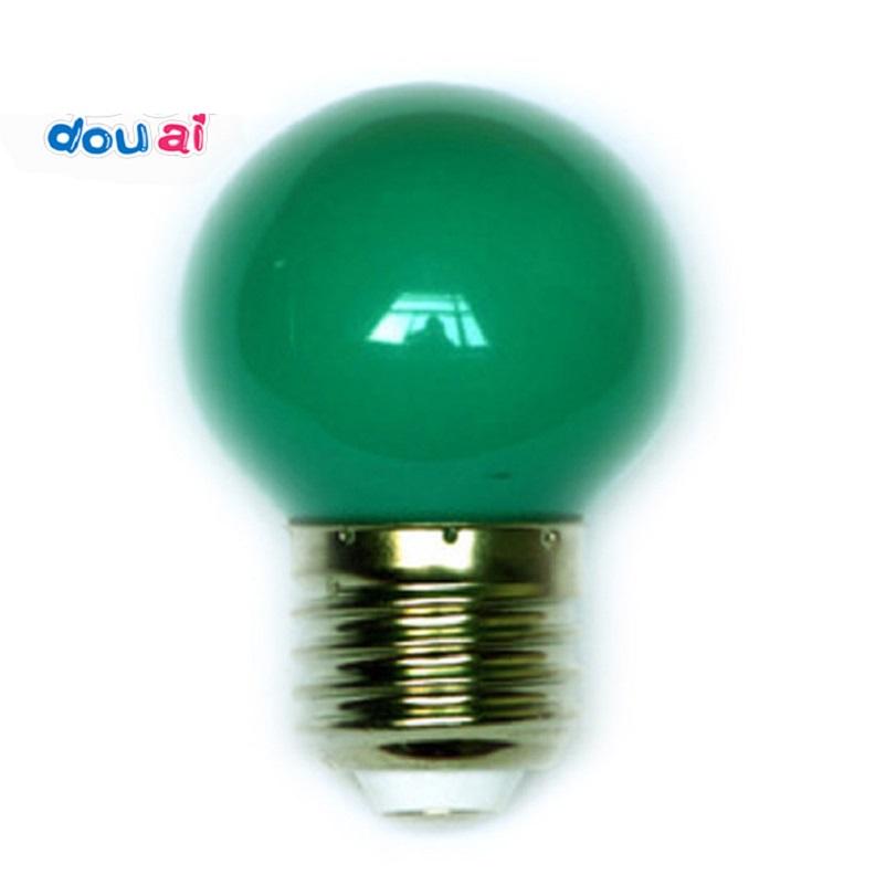 Bóng đèn led tròn G45 nhiều màu