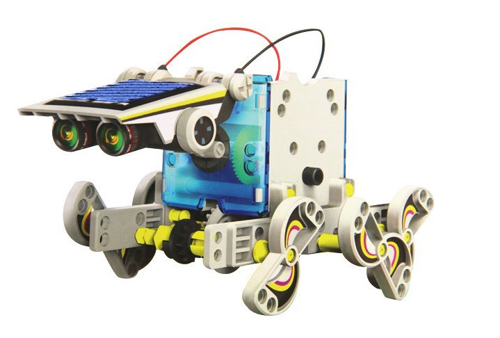 Bộ Robot lắp ghép năng lượng mặt trời 13in1