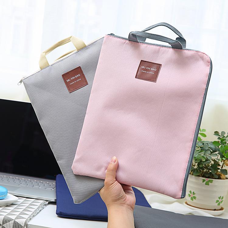 Túi vải đựng tập giấy A4 Mu Xin Bag