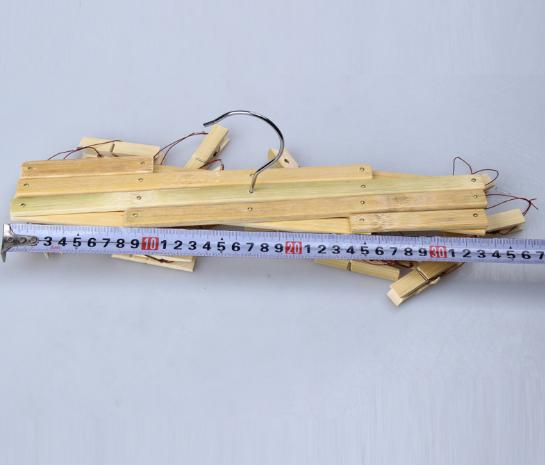 Bộ móc treo bằng tre 16 kẹp