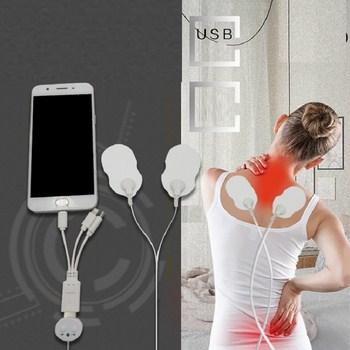Máy massage trị liệu mini USB (có đầu cho điện thoại )