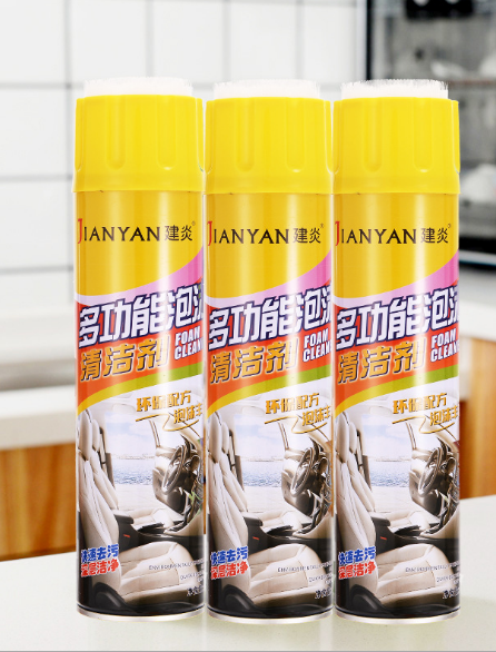 Chai xịt bọt tuyết vệ sinh xe hơi Jianyan 650ml