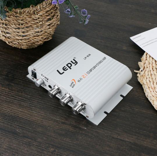 Bộ khuếch đại âm thanh LEPY LP-838 2.1CH 2A