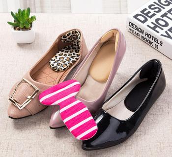 Bộ 2 miếng lót gót giày cao su hình chữ T 13.8x8.5cm