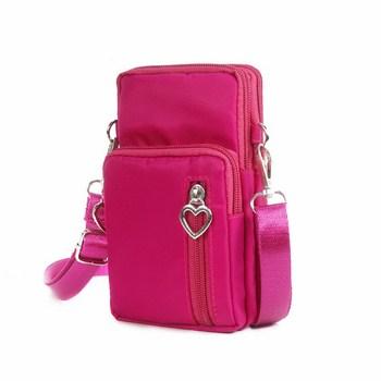 Túi đựng điện thoại đeo chéo có 4 ngăn (5 màu)