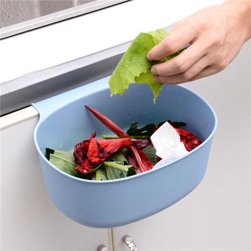 Giỏ đựng rác treo cửa tủ tiện dụng