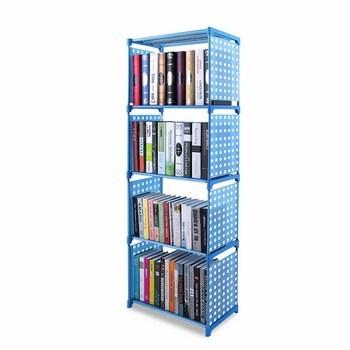 Kệ đựng sách, vật dụng 4 tầng 125x31x41cm