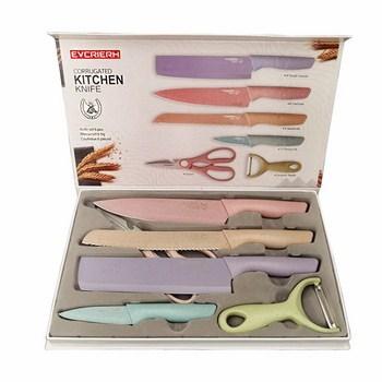 Bộ 6 món dao nhà bếp tiện dụng Kitchen