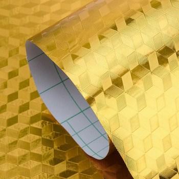 Cuộn giấy nhôm vàng chống dầu mỡ 60cm x 1m (2 mẫu)