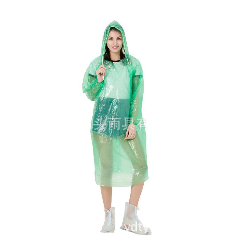 Áo mưa dùng 1 lần tiện dụng