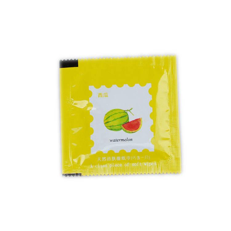 Combo 10 khăn lau trái cây dùng 1 lần