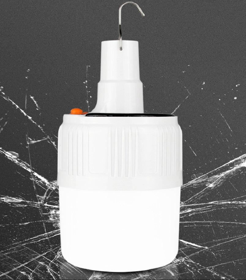 Bong đèn điều kiển từ xa năng lượng mặt trời V51