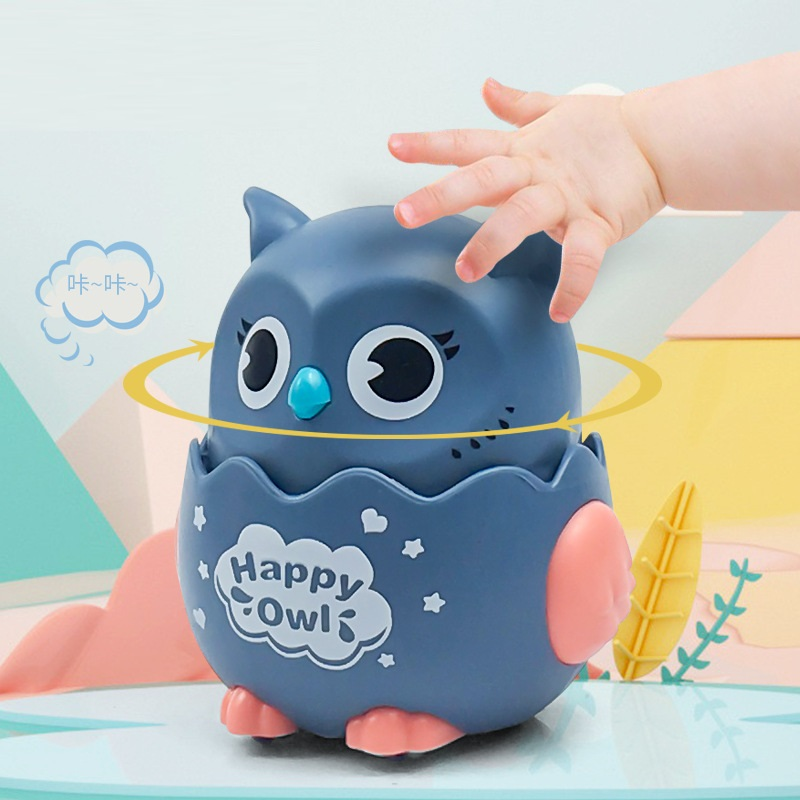 Đồ chơi chim cú chạy Happy Owl 8x6x7cm