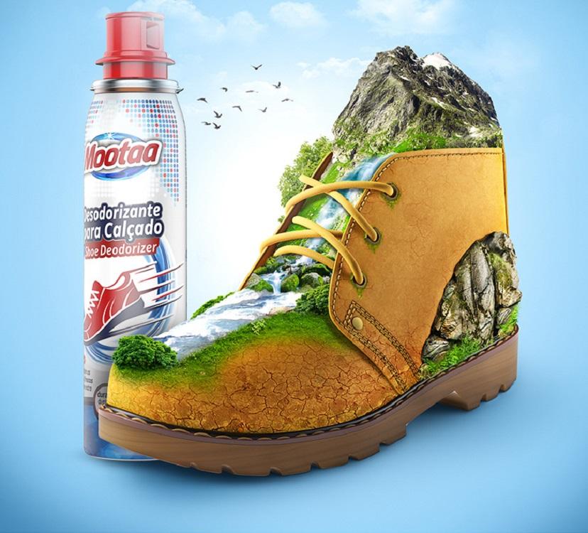 Chai xịt khử mùi giày MooTaa