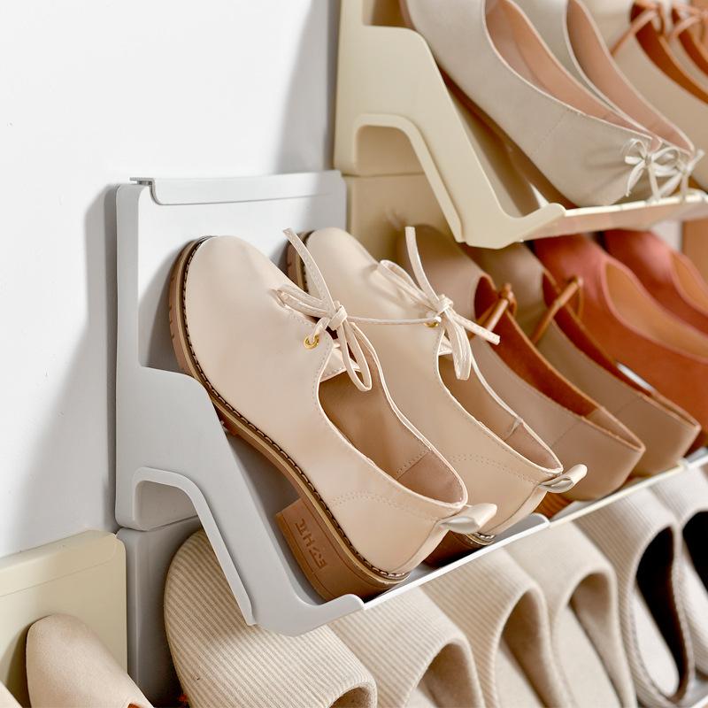 Kệ đựng giày lắp ráp nhiều tầng 25x21.5x18cm