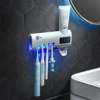 Dụng cụ đựng kem đánh răng và tiệt trùng bản chải