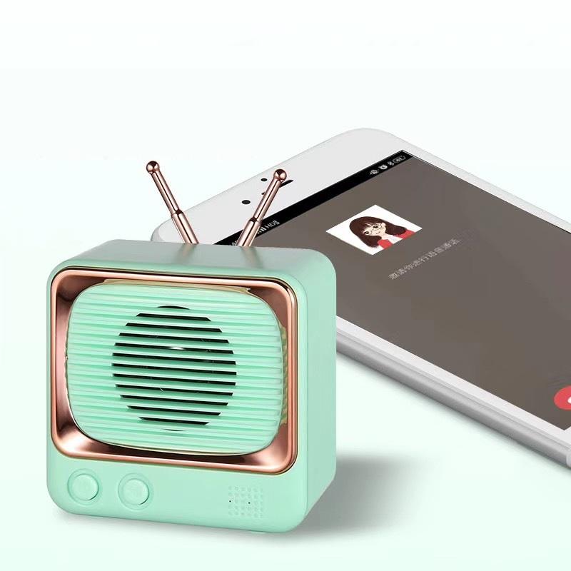 Loa bluetooth mini kểu radio