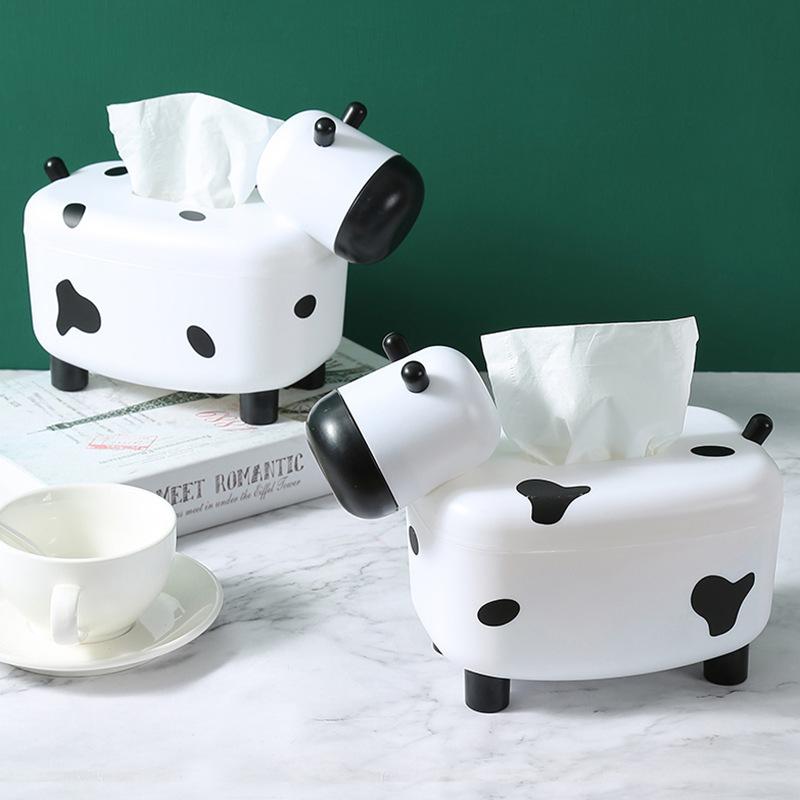 Hộp đựng khăn giấy để bàn hình con cừu