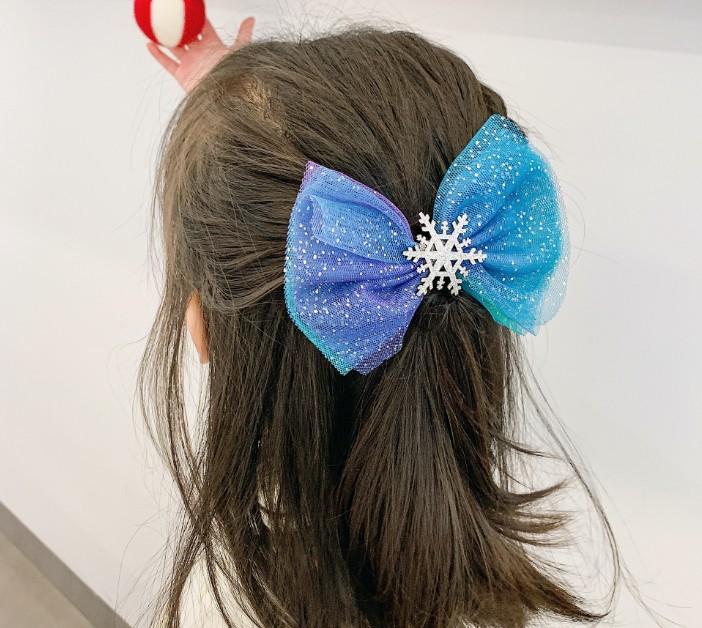 Bộ 3 kẹp tóc Công chúa Elsa cho bé