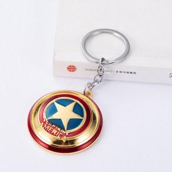Móc khóa siêu anh hùng hình ngôi sao
