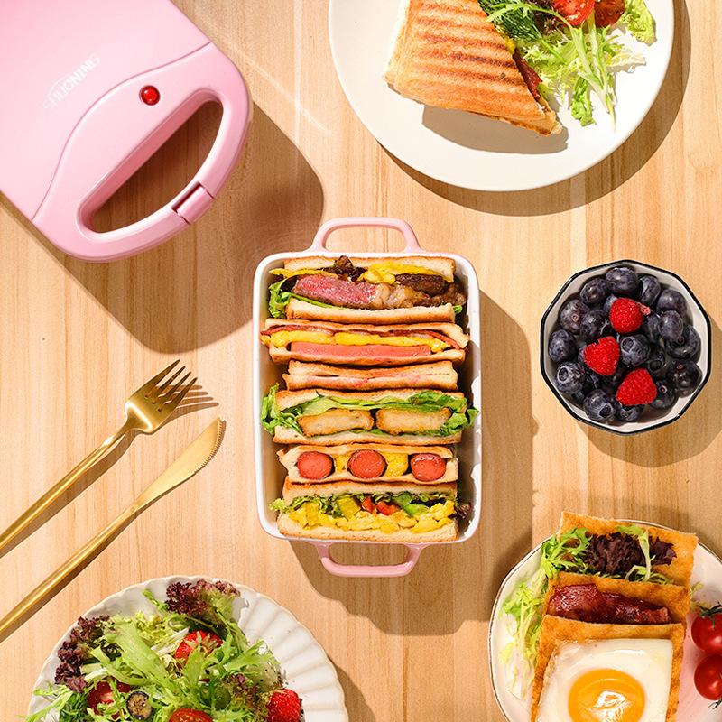 Máy làm bánh mì sandwich tiện dụng